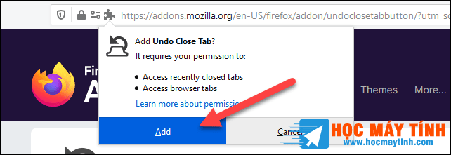 Cach Cai Dat Tien Ich Mo Rong Mozilla Firefox 6